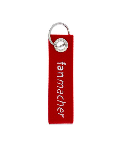 Filz Schlüsselanhänger bestickt individuell mit Ihrem Logo