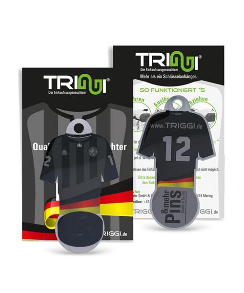 """Einkaufswagenlöser TRIGGI® Modell TR-363 """"Eishockey-Trikot"""" - Einkaufswagenchips bedrucken"""