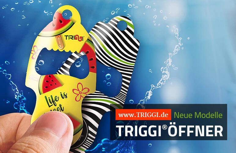 Der TRIGGI®Öffner - Neue Modelle im Einkaufswagenlöser-Sortiment