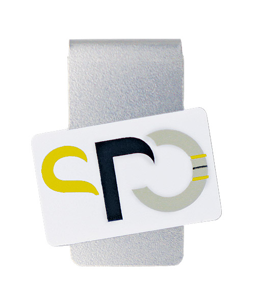 Werbeklammer aXion-Clip – die vielseitige Büroklammer mit Ihrem Logo - jetzt wieder lieferbar bei pinsundmehr.de