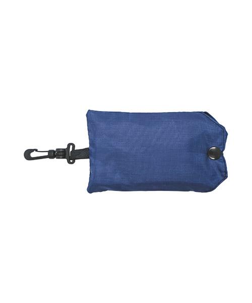 Faltbare Einkaufstasche im Miniformat mit Karabinerverschluss
