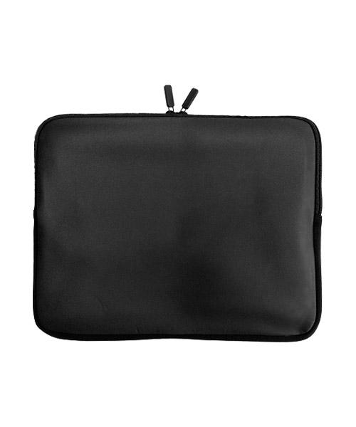 Laptop Sleeve aus Neopren mit Reißverschluss und schwarzem Zipper