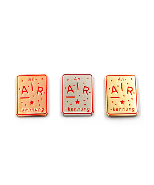"""Pin, 3er-Serie, geprägt und emailliert """"Gold – Silber - Bronze"""