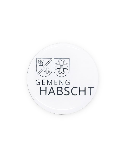 magnet-pin GmengHabscht rund