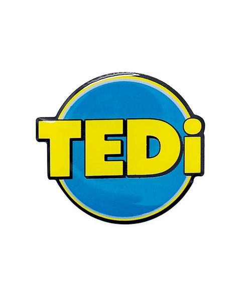 pins magnetverschluss siebdruck TEDi