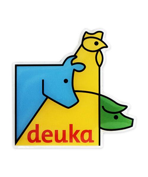 Kühlschrankmagnet Deuka - Vorderseite