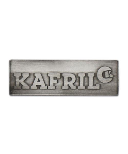 Plakette Kafril mit Reliefprägung Vorderseite