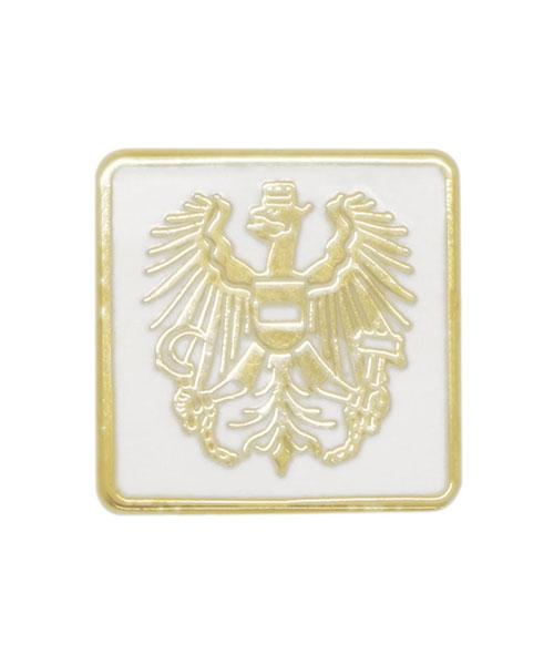 Pin geprägt in Hartemaille Wappen Österreich Vorderseite