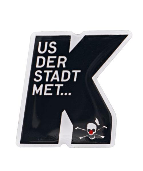 Pin, Anstecker, Werbepins - Kasalla Us der Stadt met...